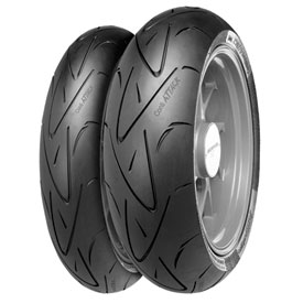 Continental Sport Attack Hypersport Radial Rear Motorcycle Tire