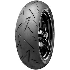 Continental ContiSport Attack 2 Hypersport Radial Rear Motorcycle Tire 200/55ZR-17 (78W)