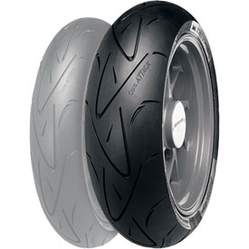 Continental ContiSport Attack Hypersport Radial Rear Motorcycle Tire