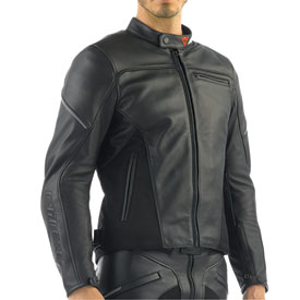 Dainese Cage Pelle Leather Motorcycle Jacket