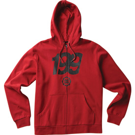 DC 199 ZH Zip-Up Hooded Sweatshirt