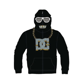 DC Cray Youth Zip-Up Hooded Sweatshirt