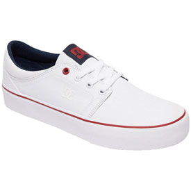 DC Women's Trase TX Shoes Size 6 White/Red