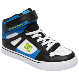 dc youth pure hightop se ev shoes  casual  rocky