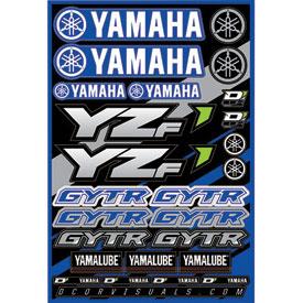 D cor visuals yamaha yzf decal sheet dirt bike rocky for D cor visuals