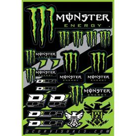 D cor visuals monster energy decal sheet dirt bike for D cor visuals