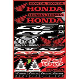 D cor visuals honda crf decal sheet dirt bike rocky for D cor visuals