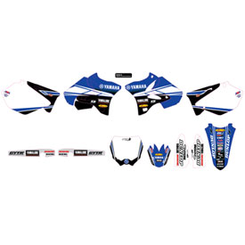 D'Cor Visuals Star Racing Yamaha Complete Graphics Kit 2017 | Parts