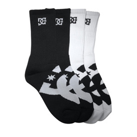 DC Willis Crew Socks - 3 Pack