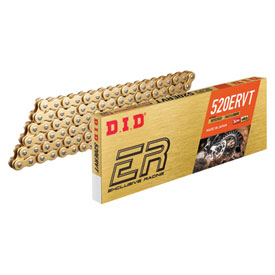 DID 520 ERVT Gold X-Ring Chain
