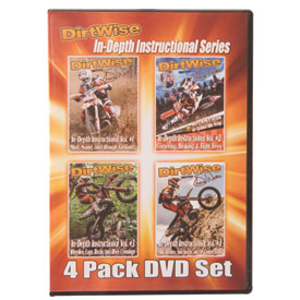 DirtWise w/Shane Watts In-Depth Instructional DVD 4 Pack