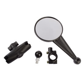 "Double Take Universal Enduro Mirror Kit for Handlebars with 7/8"" Mounting Location"
