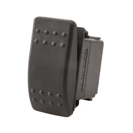 Dragonfire Racing Single-Way Momentary Rocker Switch
