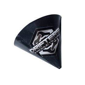 Drifters Moto Flex Funnel  Black