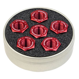 Driven Racing Sprocket Nuts Ducati 10 x 1.25  Red