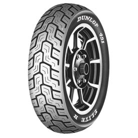 Dunlop 491 Elite II Rear Motorcycle Tire