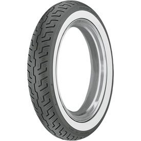 Dunlop K177 Front Motorcycle Tire 120/90-18 (65H) White Wall