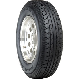 Duro DS2100 Radial Trailer Tire with 6-Hole Wheel