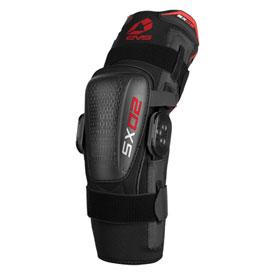 Large, Black EVS SX02 Knee Brace