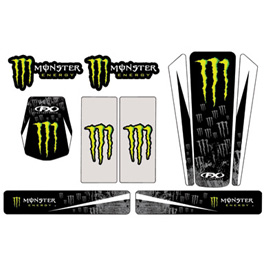 Factory Effex Monster Energy Universal Trim Kit