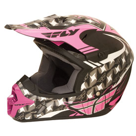 Fly Racing Kinetic Flash Ladies Helmet 2012