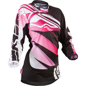 Fly Racing Kinetic Inversion Ladies Youth Jersey 2013