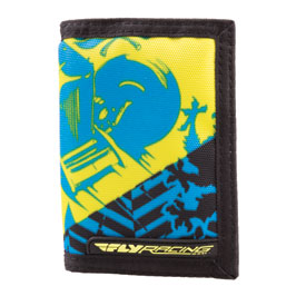 Fly Racing Nylon Tri-Fold Wallet