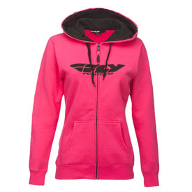 Fly Racing Women's Corporate Zip-Up Hooded Sweatshirt