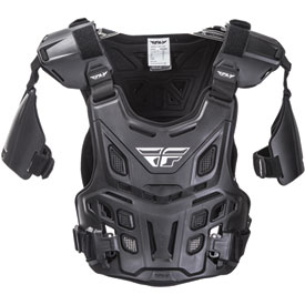 Fly Racing Revel Offroad CE Roost Guard Adult Black