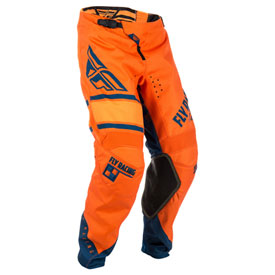 "Fly Racing Kinetic Era Pants 28"" Orange/Navy"