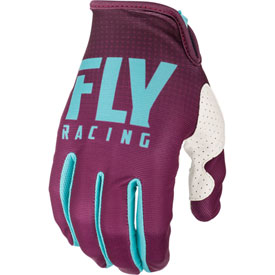 Fly Racing Lite Gloves 2019 XX-Large Seafoam/Port/White