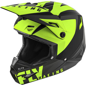 Fly Racing Elite Vigilant Helmet XX-Large Matte Black/Hi-Vis