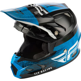 Fly Racing Toxin Embargo w/MIPS Helmet XX-Large Blue/Black