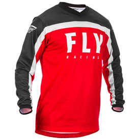 Fly Racing Youth F-16 Jersey 20 Large Red/Black/White