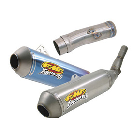 FMF Factory-4.1 Silencer With TI Mid-Pipe