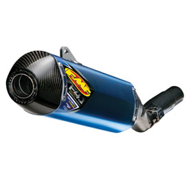 FMF Factory-4.1 RCT Anodized Titanium Silencer with Carbon End Cap and Side Panel