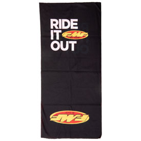FMF 2 Tone Neck Gaiter Black/Red
