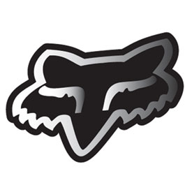 Fox Racing Head Sticker