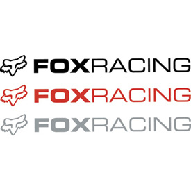 Fox Racing Legacy Sticker