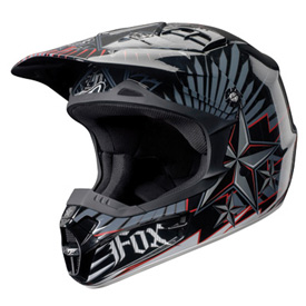 Fox Racing V1 Revolution Helmet 2010