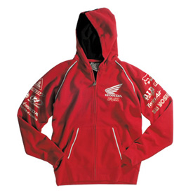 Fox Racing Honda Factory Zip-Up Hooded Sweatshirt