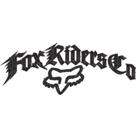 Fox Racing Ornate Sticker