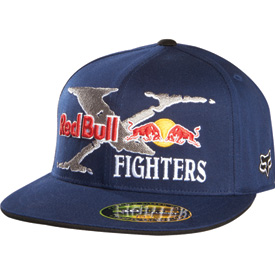 Fox Racing Red Bull XFighters Core 210 Fitted Flex Fit Hat
