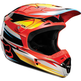 Fox Racing V1 Race Helmet 2012