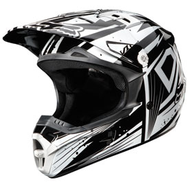 Fox Racing V1 Undertow Youth Helmet 2012
