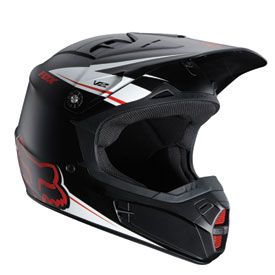 Fox Racing V2 Matte Helmet 2012