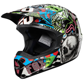 Fox Racing V2 Pure Filth Helmet 2012