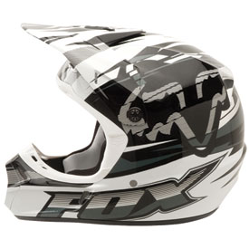 Fox Racing V3 Speed Helmet 2012
