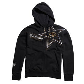 Fox Racing Rockstar Golden Zip-Up Hooded Sweatshirt