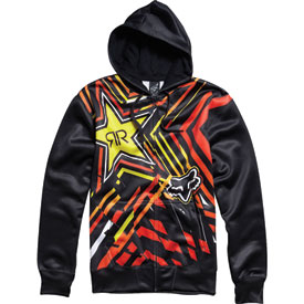 Fox Racing Rockstar Spike Vortex Zip-Up Hooded Sweatshirt
